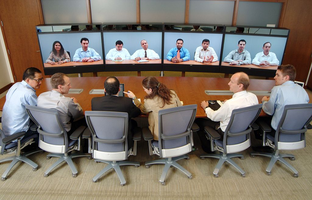 Photo of people in an office