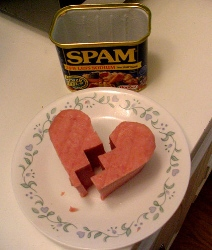 Broken Spam Heart