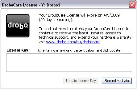 DroboCare warranty service by Drobo