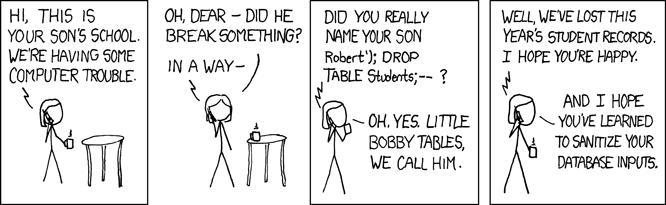 Funny xkcd comic