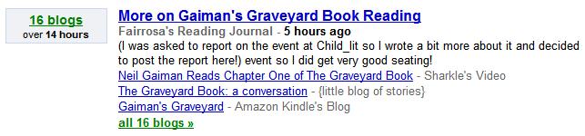 Gaiman reading