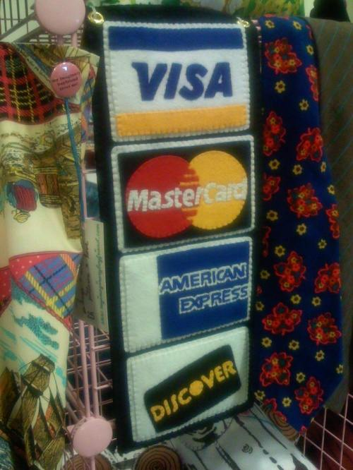 Handmade credit cards