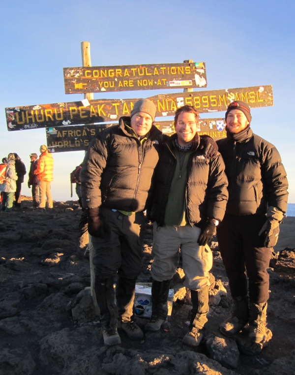 Summit of Kilimanjaro with friends