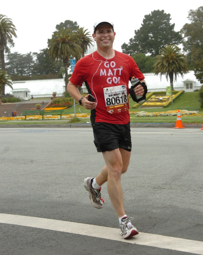 Matt Cutts in the San Francisco marathon