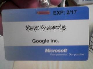 microsoft badge