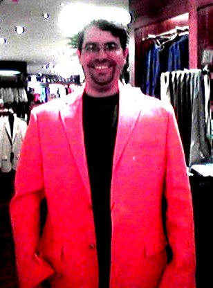 Matt in orange blazer