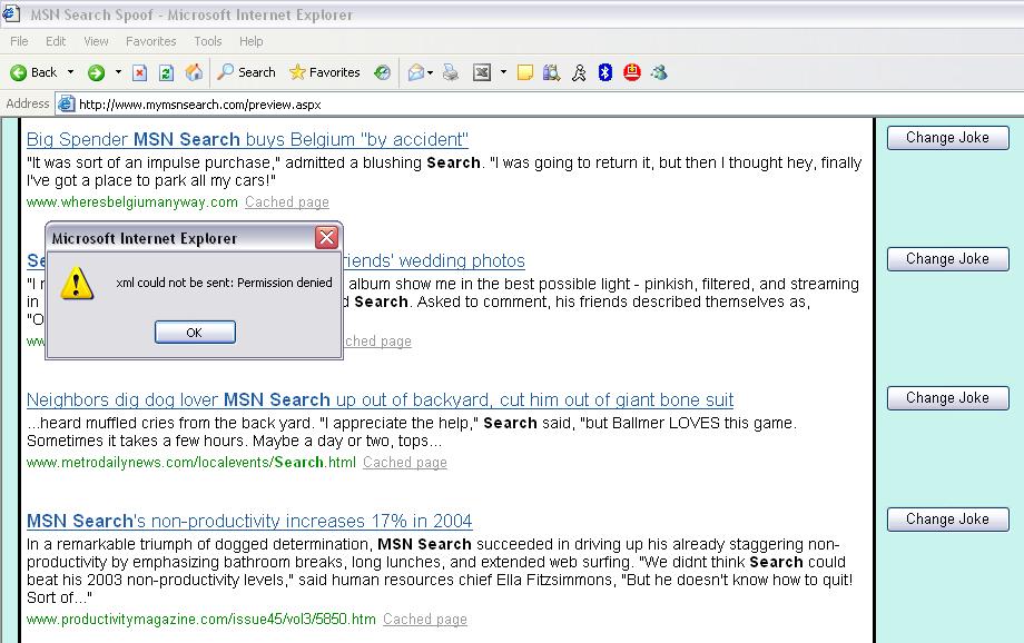 MSN April Fools