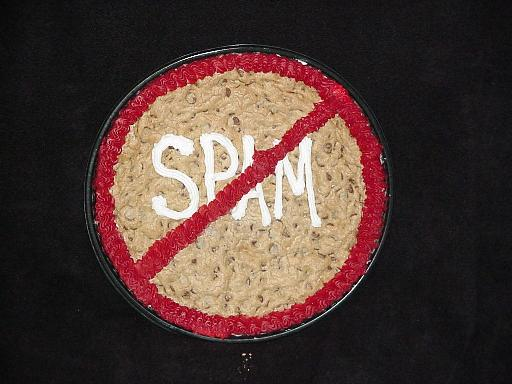 No spam cookie