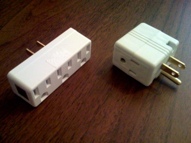 Triple tap adapters