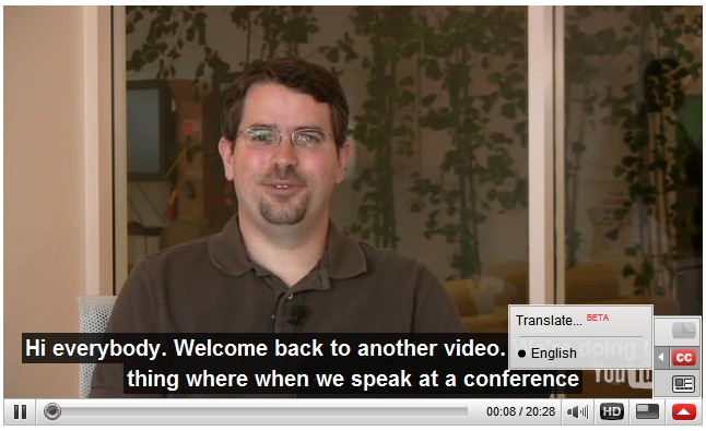 Show and Translate YouTube Captions